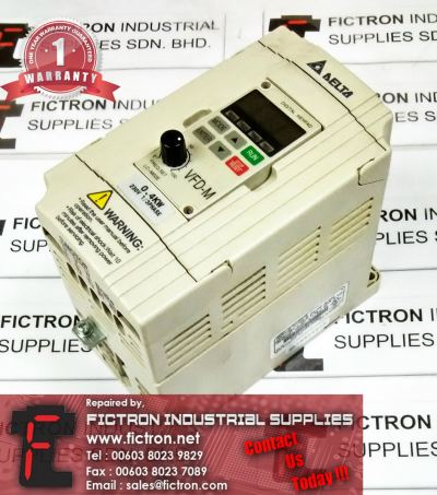 VFD004M21A DELTA VFD-M FREQUENCY INVERTER DRIVE REPAIR SERVICE IN MALAYSIA 12 MONTHS WARRANTY