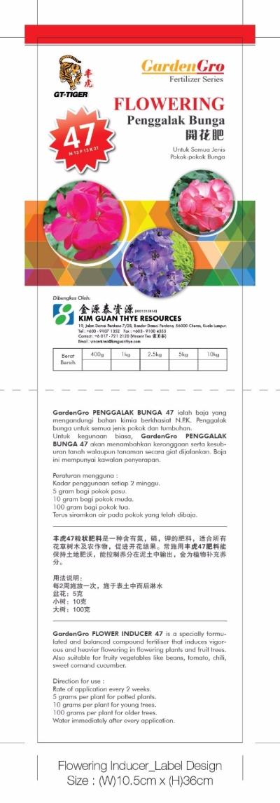 GardenGro - Flowering 13-13-21