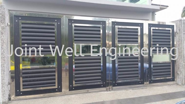 Stainless Steel Folding Gate Folding Gate Stainless Steel Main Gate