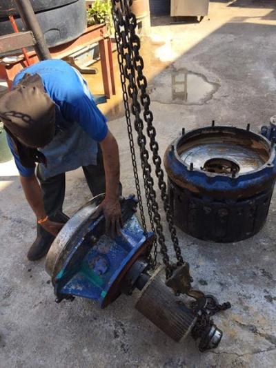 Toyo Pump Repairing