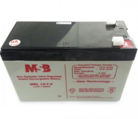 MSB MS12-7.2 Lead Acid Battery