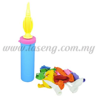 Hand Pump with 9inch Balloon 20pcs (BP-HP20)