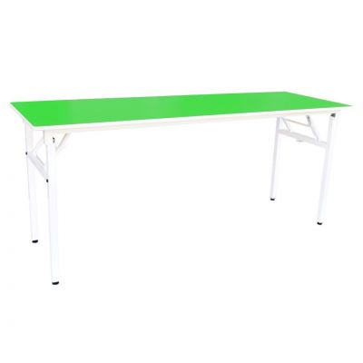 Q027 FLH Rectangular Table wt Foldable Legs (2'x6')(H:76cm)