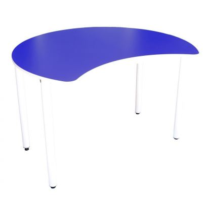 Q031H 4' Moon Shaped Table (H:76cm)