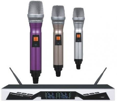 Professional UHF Wireless Microphone (SPK-SK268)