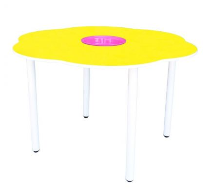 Q030H  4' Flower Shaped Manipulative Table (H:76cm)