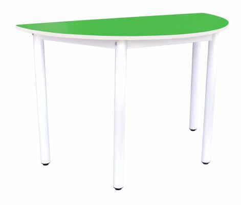 Q018H Semi Round Table (H:76cm)