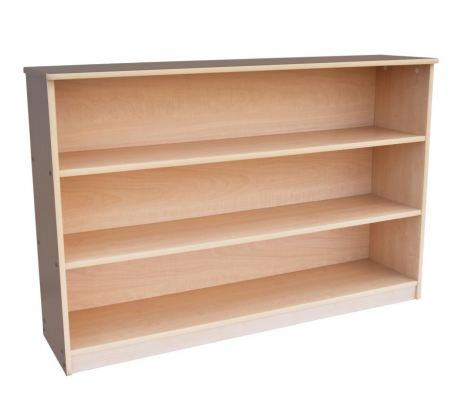 QW028 Hardwood Display Shelf