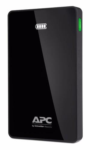 M10BK APC Mobile Power Pack, 10000mAh Li-Polymer, Black Mobile Power Packs  APC