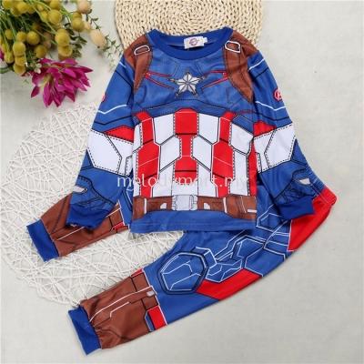 Captain america avengers suit kids 1010 0304