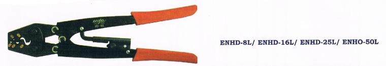 Enzio Hand Crimping Tool ENHD-8L / 16L / 25L / 50L Indent Crimping L270mm~365mm Hand Crimping Hand Tools