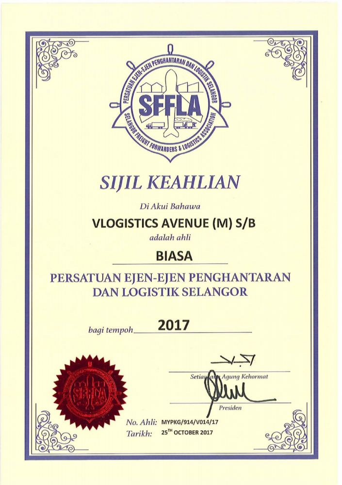 We are Member of SFFLA!!!!