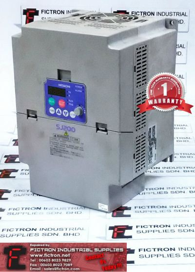 SJ200-075HFEF SJ200075HFEF HITACHI INVERTER REPAIR SERVICE IN MALAYSIA 12 MONTHS WARRANTY