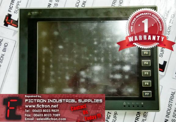 PWS6A00T-P PWS6A00TP HITECH HMI REPAIR SERVICE IN MALAYSIA 12 MONTHS WARRANTY