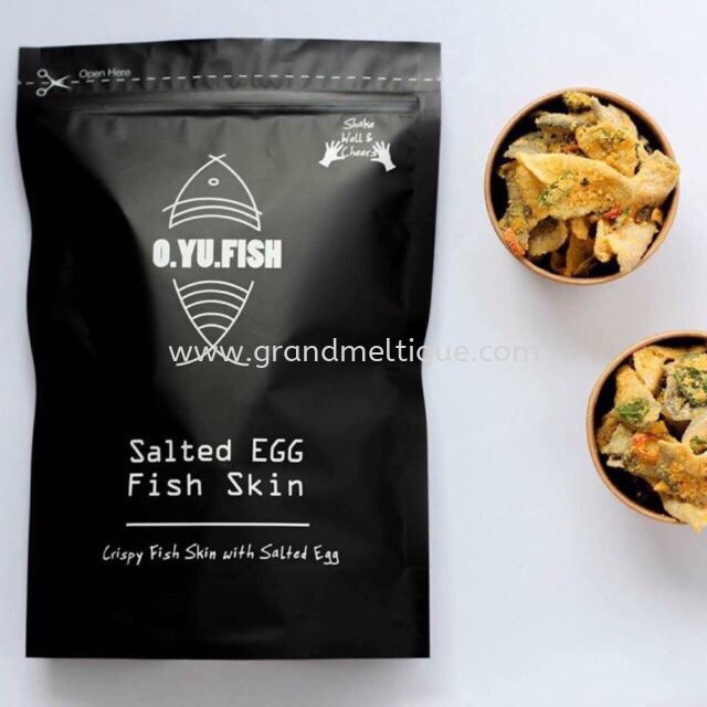 Oyu Salted Egg Fish Skin 180g
