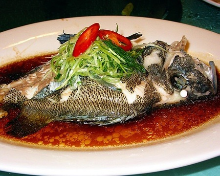 清蒸石斑/斗鲳 Steam Fish