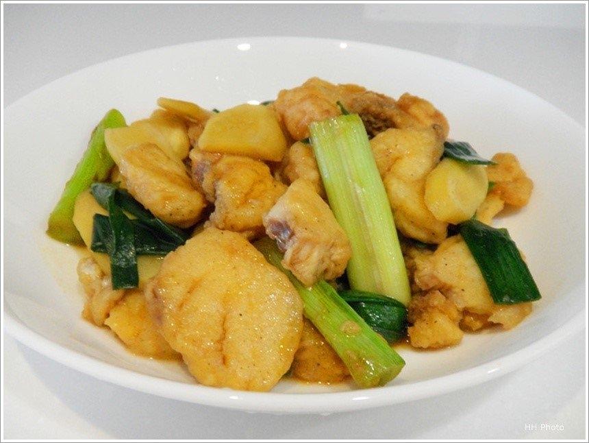 姜葱鱼片(石斑/斗鲳)Ginger Shallot Fish Slice