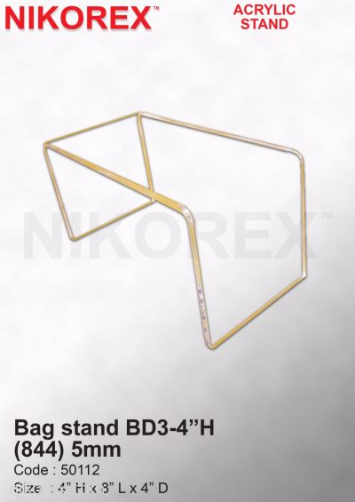 50112-Bag stand BD3-4��H (844) 5mm