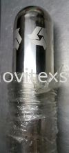 "laser marking logo on stainless steel pipe 4"" /chemical engrave  Laser Engraving Marking & Cut"