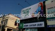Billboard Banner Event Installation