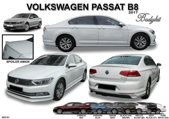 Volkswagen Passat B8 AM bodykit