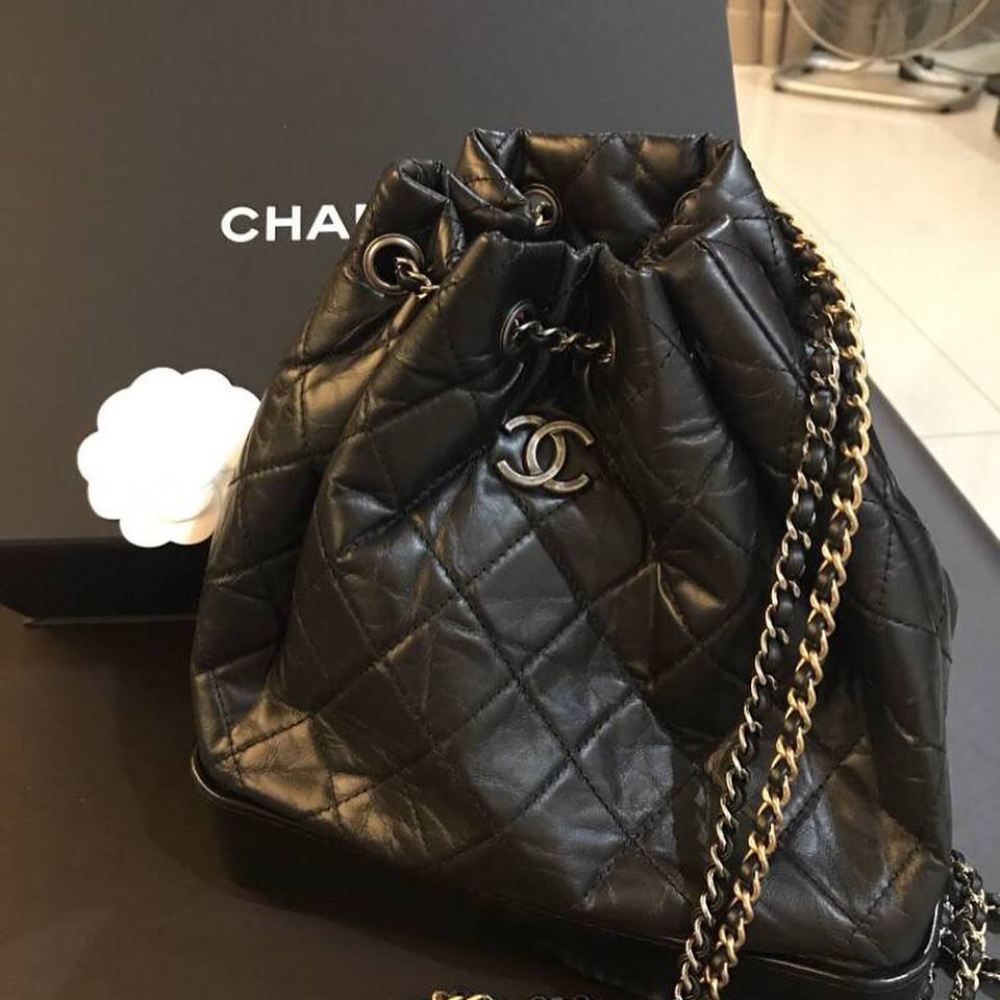 c50ed689dde0 SOLD) Chanel Gabrielle Backpack with Dual Chain Chanel Kuala Lumpur ...