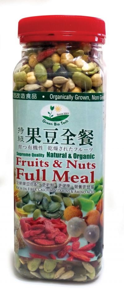 GB-FULL MEAL*FRUITS & NUTS-380G