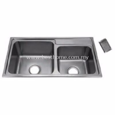 TORA CLASSICAL & STANDARD SERIES KITCHEN SINK DB8142 / TR-KS-DB-00094-ST