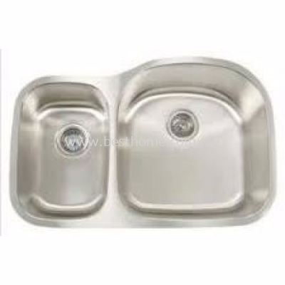 FAUREX ECONOMIC SERIES KITCHEN SINK FR-DB0817-S / FR-KS-DB-03045-ST