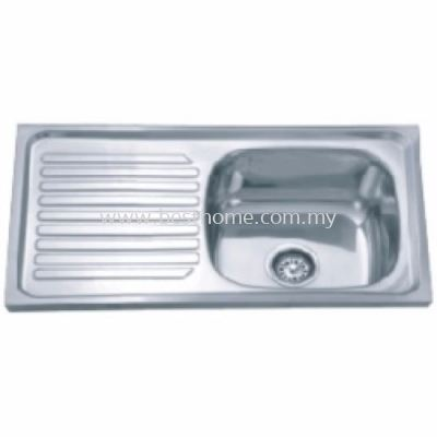FAUREX ECONOMIC SERIES KITCHEN SINK FR-NH4218-P / FR-KS-NH-00180-PL