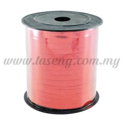 0.5cm Metallic Laser Ribbon -Red (RB4-RED)