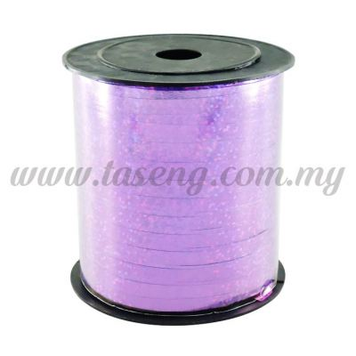 0.5cm Metallic Laser Ribbon -Purple (RB4-PP)