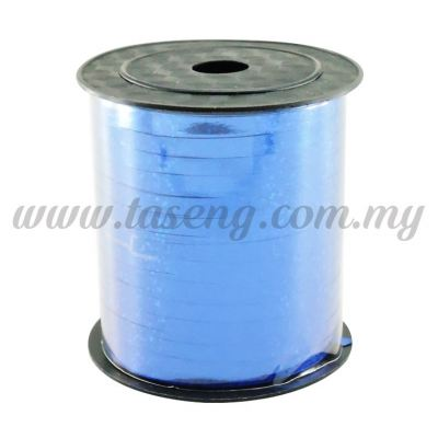 0.5cm Metallic Laser Ribbon -Blue (RB4-B)