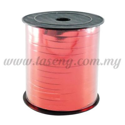 0.5cm Metallic Ribbon -Red (RB3-RED)