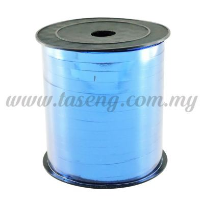 0.5cm Metallic Ribbon -Blue (RB3-B)