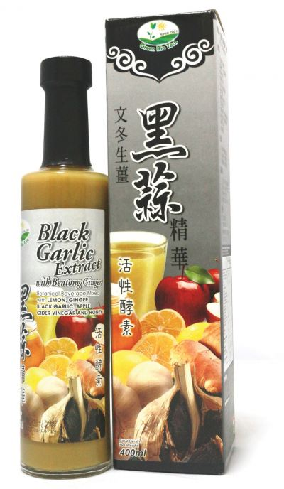 GB-BLACK GARLIC EXTRACT WITH BENTONG GINGER-400ML