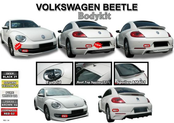 Volkswagen Bettle Bodykit AM Style 2