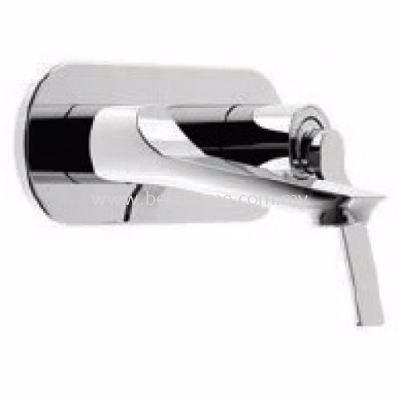 TORA FRESCA SERIES WALL MOUNTED WASH BASIN MIXER TAP TR-TP-BTM-08888-CH