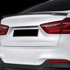 BMW X16 performance Rear Trunk Spoiler