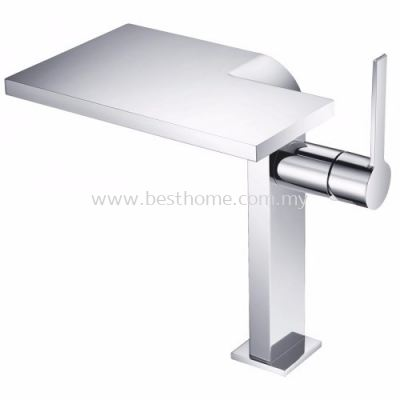 TORA STARTREX SERIES ABOVE COUNTER BASIN MIXER TAP TR-TP-GBM-07506-CH