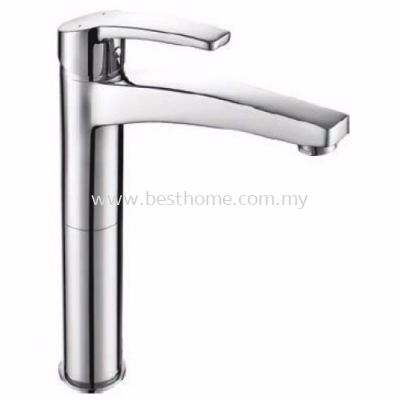 TORA VANESS SERIES ABOVE COUNTER BASIN MIXER TAP TR-TP-GBM-08045-CH