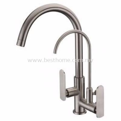 TORA EASY-HAND SERIES KITCHEN PILLAR SINK COLD TAP C/W FILTER TAP PS500-S / TR-TP-PS-00254-ST