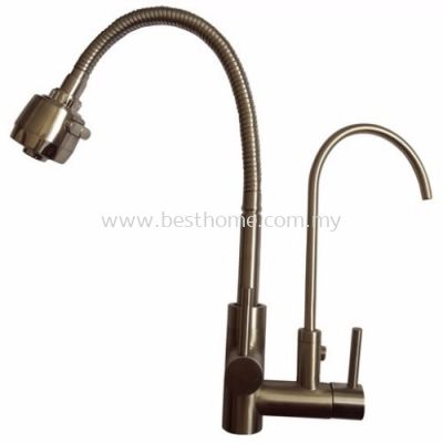 TORA SENSO SERIES KITCHEN WALL SINK COLD TAP TR-TP-WS-08946-ST