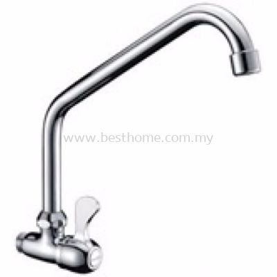 TORA KITCHEN WALL SINK COLD TAP WS433 / TR-TP-WS-00517-CH