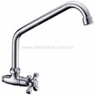 TORA KITCHEN WALL SINK COLD TAP WS52 / TR-TP-WS-00515-CH