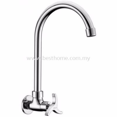 TORA NEO SERIES KITCHEN WALL SINK COLD TAP WS3300 / TR-TP-WS-00316-CH