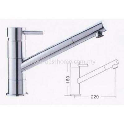 TORA KITCHEN PILLAR SINK MIXER TAP PM17 / TR-TP-PM-00596-CH