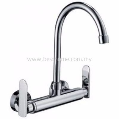TORA EASY-HAND SERIES KITCHEN WALL SINK MIXER TAP WSM47-C / TR-TP-WSM-00264-CH