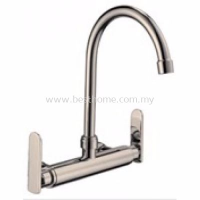 KITCHEN WALL SINK MIXER TAP WSM47-S / TR-TP-WSM-00265-ST