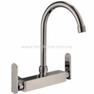 KITCHEN WALL SINK MIXER TAP WSM46-S / TR-TP-WSM-00267-ST